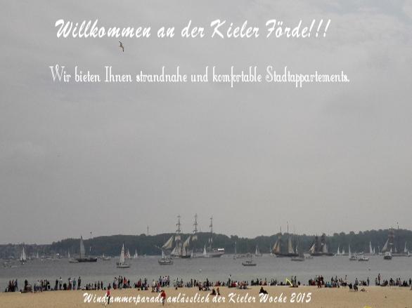 Willkommen an der Kieler Foerde